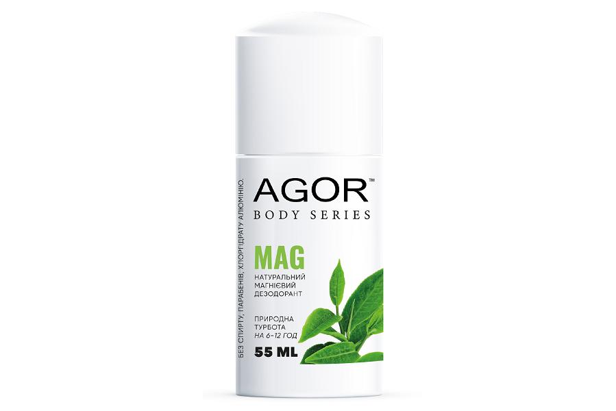 Натуральный роликовый магниевый дезодорант MAG